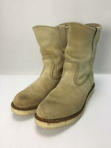 Red wing Pecos Pecos 25.5Cm Ivo Sewed Ivory Size 25.5cm Boots From Japan