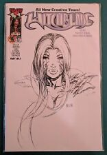 Witchblade #40 Dynamic Forces Exclusive Sketch Variant by Keu Cha Image Comic