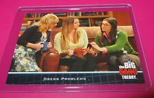 2013 THE BIG BANG THEORY T.V SHOW NMINT TRADING  CARD #24 WEDDING DRESS PROBLEMS