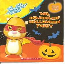 Zhu Zhu Pets: Mr. Squiggles's Halloween Party (2010, Paperback)