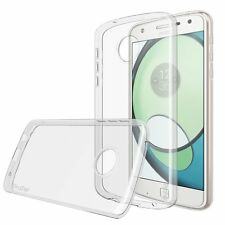 Pour Moto Z Play Coque Gel En Silicone Tpu Lisse Transparent invisible
