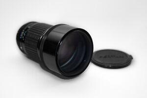 SMC Pentax 200mm f2.5 fast telephoto K-Mount Lens Professionally tested