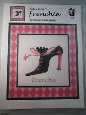 Sole Mates Frenchie by Jeanne Bowers-Green Apple Co. Cross Stitch Pattern