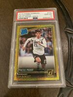 2018-19 Donruss Soccer Gold Press Proof Kai Havertz Germany RC Rookie * 63/75 *