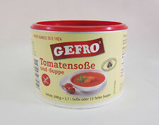Gefro ORGANIC Tomato Soup /Sauce -VEGAN Gluten Lactose Free-1,7l-