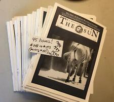 Huge Lot Sun Magazine 45 Issues Vtg 1988 1989 1990 1991 Large The Philosophy Old