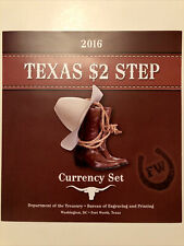 2016 Texas $2 Step Currency Set (JZ)
