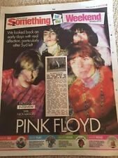 NICK MASON interview PINK FLOYD UK 1 DAY PHOTO COVER INTERVIEW November 2016