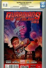 Guardians of the Galaxy 0.1 CGC 9.8 SS X2 Stan Lee Gillen Groot Rocket Raccoon