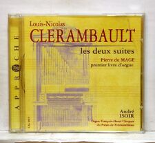 ANDRE ISOIR - CLERAMBAULT the 2 suites DU MAGE 1st organ book CALLIOPE CD NM