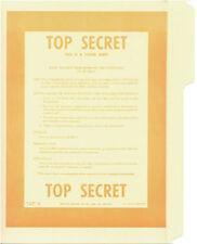 Top Secret No.2 File Folder 5-Pack
