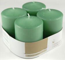 Set 4 Pezzi Candele Profumate Fragranza Mela Verde Decorazione Votive dfh