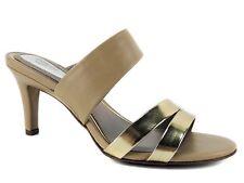 Alfani Women's Dextine Slide Sandals Gold Size 7.5 M
