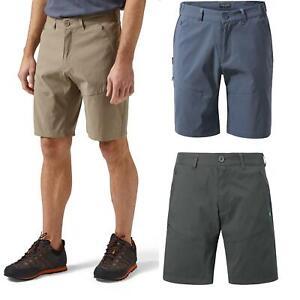 Craghoppers Mens Kiwi Pro Walking Shorts Stretch Zipped Pockets