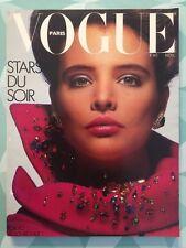 VOGUE PARIS French n 661 Nov 1985 Kim Adams - Stars du Soir - Tokyo Aujourd'hui