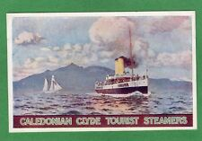 More details for caledonian clyde tourist steamers advert norman wilkinson pc mccorquodale ref m7