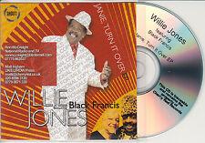 WILLIE JONES Janie Turn It Over EP UK 4-trk promo test CD Black Francis Pixies
