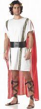 Mens Roman Gladiator Toga Medieval Spartan Greek God Fancy Dress Costume Large