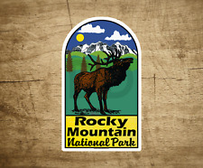"Rocky Mountain National Park Sticker Decal Colorado Vinyl 2.3"" X 4"" Vintage"