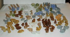 Mixed Lot 125+ Wade England Whimsy Red Rose Tea Figurines From Several Series