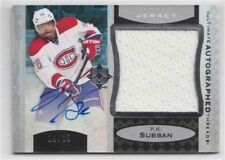 13-14 Ultimate Autographed Threads P.K. Subban 19/25