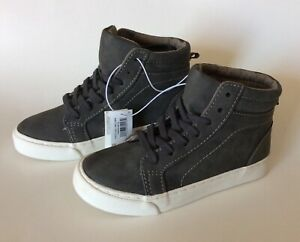 NEW OLD NAVY Sueded High Tops Sneakers Boys Shoes Kids