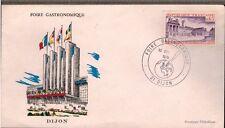 1974 - ENVELOPPE FDC 1°JOUR - FOIRE GASTRONOMIQUE - TIMBRE.OBL.DIJON - Yt.1757