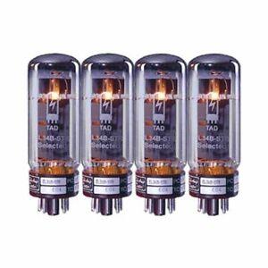 Tube Amp Doctor EL34B-STR Quartett - Endstufenröhren Quartett