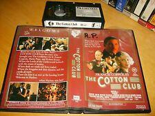 Betamax *THE COTTON CLUB* 1984 Pre Cert Australian K-Tel RARE 1st Iss. Beta Tape