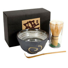 Japanese Tea Ceremony Matcha Bowl, Scoop/ Whisk Set/NARUTO With Gift Box/ A-1