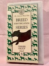 Vhs - Akc Terrier Breeds Pit Bull Airedale Cairn Schnauzer Norwich Skye Fox More