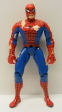 BATTLE DAMAGE SPIDERMAN spidey  5in action figure , toy biz 1995