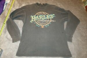 Harley Davidson LAS VEGAS RK Stratman Vintage Thermal Long Sleeve MENS SZ LARGE
