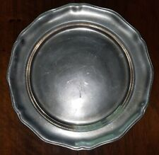 """New listing Vtg Wilton Armetale """"Country French"""" Pattern Serving Plate / Charger Replacement"""