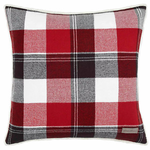 "Eddie Bauer Lodge Throw Pillow Red 20"" x 20"""