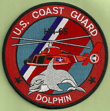U.S. COAST GUARD HH-65 DOLPHIN RESCUE HELICOPTER PATCH