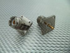 (2) Telewave 44A 44Ap 44L1 44L1P Wattmeter Qc44S Qc Connectors So239 Uhf Female