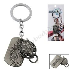 Final Fantasy VII Cloud Wolf Logo Key Ring Chain New In Box