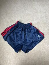 Adidas Nylon Sprinter Shorts Glanz Vintage Football Retro Gym Running Sexy