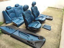 inkl. Umbau BMW E46 M3 Coupe laguna seca blau Lederausstattung M Sitze Leder
