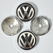4x VW WHEEL CENTER CAPS RIM HUB CAP FOR Volkswagen PASSAT Jetta GOLF Bettle 60mm