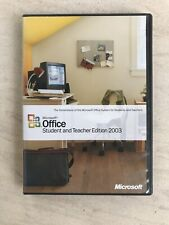 Microsoft Office Student and Teacher Edition 2003 for Windows