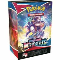 Pokemon TCG Sword & Shield Battle Styles Build & Battle Box Prerelease Kit