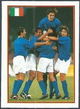 MERLIN EUROPE 2000- #032-ITALY PLAYERS CELEBRATE A GOAL