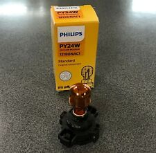 BMW Philips Standard PY24W 12190NAC1 24W One Amber Bulb Turn Signal Daytime Lamp