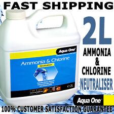 Aqua One Ammonia & Chlorine Neutraliser Aquarium Fish Tank Water Conditioner 2L