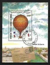 Avions Ballons et Dirigeables Comores (9) bloc oblitéré