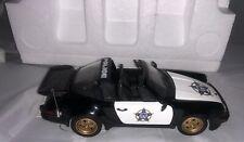 Franklin Mint Porsche 911 Police Car