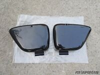 Honda Touring 90 C200 CA200 C201 Black Side Cover Pair //  Left & Right // New