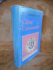 CHINE DE COMMANDE D.F. LUNSINGH SCHEURLEER PORCELAINE CHINOISE CÉRAMIQUE ART